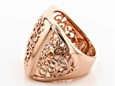 Pre-Owned Filigree Copper Ring