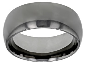 Pre-Owned Gunmetal Rhodium Over Bronze Comfort Fit Band Ring