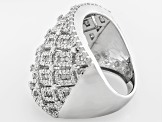 Pre-Owned Diamond Sterling Silver Ring, 2.15ctw