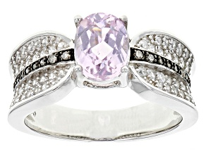 Pre-Owned Pink Kunzite Sterling Silver Ring 188ctw