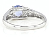 Pre-Owned Blue Tanzanite Sterling Silver Ring 1.46ctw