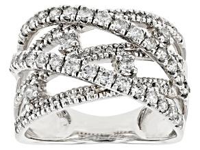 Pre-Owned White Diamond 14K White Gold Ring 1.00ctw