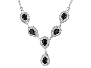 Pre-Owned Blue Sapphire Sterling Silver Necklace 4.51ctw