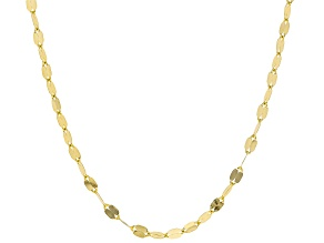 Pre-Owned 10k Yellow Gold Grand Mirror 20 inch Chain Necklace
