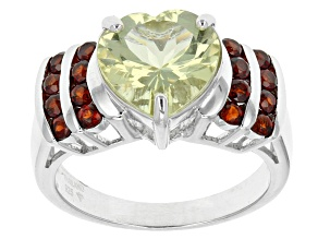 Yellow Mexican Apatite Sterling Silver Ring 2.00ctw