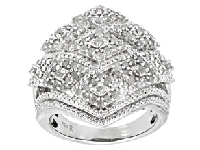Diamond Sterling Silver Ring 1.00ctw