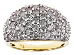 Diamond 10k Yellow Gold Ring 1.00ctw.