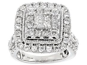 Diamond 14k White Gold Ring 2.00ctw
