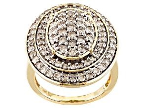 Diamond 10k Yellow Gold Ring 2.00ctw