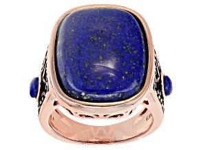 Copper Lapis Ring