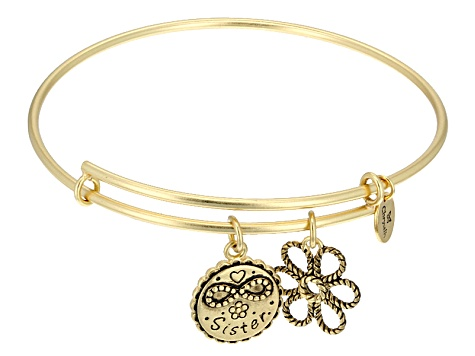 bee6aed90f2bc Chrysalis ™ Friend & Family Sister Expandable Bangle