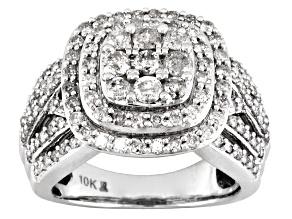 White Diamond Ring 10k White Gold 2.00ctw