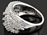 Diamond Sterling Silver Ring 1.50ctw