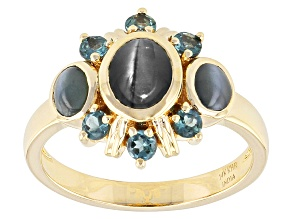 Color Change Alexandrite 14k Yellow Gold Ring 1.32ctw