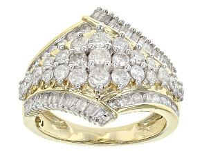 Diamond 14k Yellow Gold Ring 1.50ctw