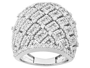 Diamond Sterling Silver Ring, 2.15ctw