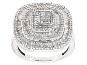 Diamonds Sterling Silver Ring 1.45ctw