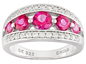 Pink Danburite Sterling Silver Ring 1.18ctw