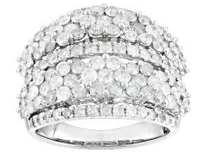 Pre-Owned  3.00ctw Round White Diamond 10k White Gold Ring