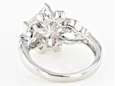 Pre-Owned Moissanite Platineve Ring 2.50ctw D.E.W
