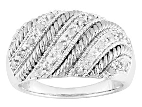 Pre-Owned Diamond Silver Ring .25ctw