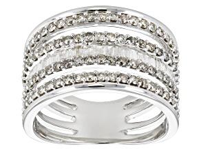 White Diamond 14k White Gold Ring 1.43ctw