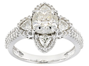 Pre-Owned Moissanite Platineve Ring 2.82ctw D.E.W