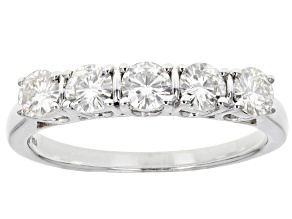 Pre-Owned Moissanite Ring Platineve™ 1.15ctw DEW