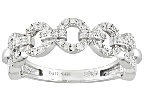 White Diamond 14k White Gold Ring .20ctw