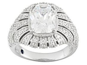 Pre-Owned Cubic Zirconia Platineve Ring 7.66ctw