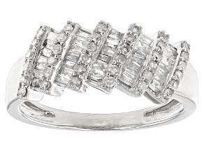 Pre-Owned Diamond 10k White Gold Ring .60ctw