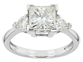 Pre-Owned Moissanite Ring Platineve(TM) 2.56ctw DEW