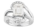 Pre-Owned Moissanite Platineve Ring 2.68ctw