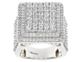 Pre-Owned Cubic Zirconia Silver Ring 6.00ctw