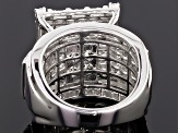 Pre-Owned Cubic Zirconia Silver Ring 5.40ctw