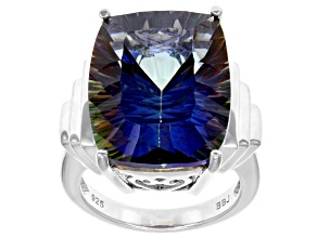 Pre-Owned Mystic Universe™ Mystic Quartz® Sterling Silver Ring 15.00ct