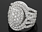 Pre-Owned 10k Diamond White Gold Ring 2.00ctw