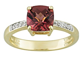 Pre-Owned Purple Garnet 10k Yellow Gold Ring 1.45ct