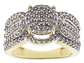 Pre-Owned White Diamond 10k Yellow Gold Ring 1.27ctw