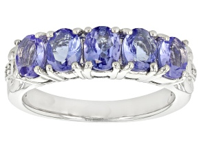 Pre-Owned Blue Tanzanite Sterling Silver Ring 1.51ctw