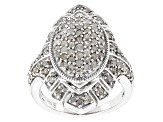 Pre-Owned Diamond Silver 1.50ctw