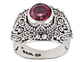 Pre-Owned Fast Casual™ Quartz Silver Ring 1.50ctw