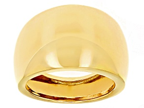 Pre-Owned 14k Yellow Gold Polished Dome Ring