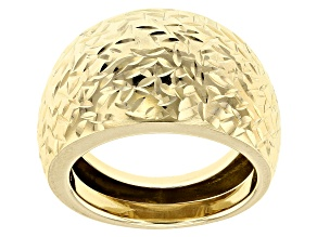 Pre-Owned 14k Yellow Gold Dome Ring