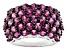 Pre-Owned Purple Rhodolite Sterling Silver Ring 5.27ctw