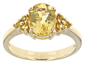 Pre-Owned Yellow Beryl 10k Yellow Gold Ring 1.61ctw