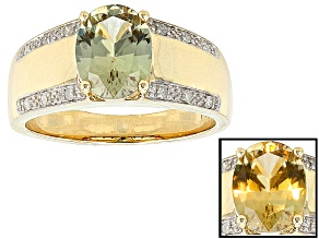 Pre-Owned Color Change Zultanite® 14k Yellow Gold Ring 1.56ctw