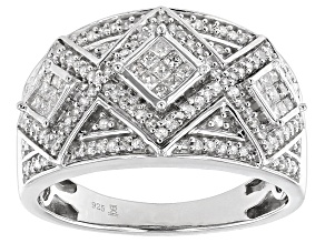 Pre-Owned Diamond Silver Ring .50ctw