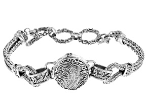 Pre-Owned Filigree Sterling Silver Bracelet
