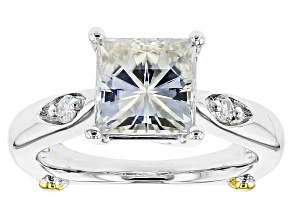 Pre-Owned Moissanite Ring Platineve™ 3.22ctw DEW